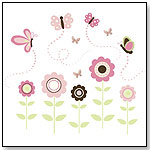 WallPops for Baby Butterfly Garden Wall Art Kit by BREWSTER HOME FASHIONS