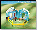 Frolicking Foals Pocket Barn by REEVES INTL. INC.