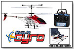 GYRO Hercules Unbreakable 3.5CH Electric RTF Remote Control Helicopter by HOBBYTRON/WORLD TECH TOYS