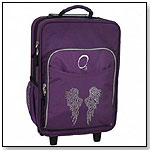 Angel Wings Kids Rolling Suitcase by O3 USA
