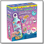 SparkleUps® Dolphins Water Bottle by THE ORB FACTORY LIMITED
