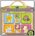 green start™ chunky wooden puzzles: big and little by INNOVATIVEKIDS