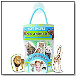Soft Shapes Tub Stickables - Zoo Animals by INNOVATIVEKIDS