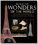 Build 3-D Wonders of the World by PAPERLANDMARKS