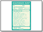Scavenger Hunt Pad by KNOCK KNOCK