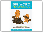 Big Words Flashcards by KNOCK KNOCK