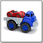 Green Toys Flatbed Truck and Race Car by GREEN TOYS INC.