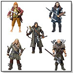 "The Bridge Direct Hobbit Hero Pack - Bilbo, Thorin, Dwalin, Kili and Fili 3.75"" Figure Box Set by THE BRIDGE DIRECT INC"