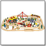 Freight Train Set / 130 Pieces by BIGJIGS