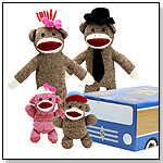 The Sock Monkey Family - Car by BRYBELLY HOLDINGS INC.