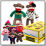 The Sock Monkey Family - School Bus by BRYBELLY HOLDINGS INC.
