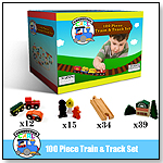 Conductor Carl 100 Piece Wooden Train Set by BRYBELLY HOLDINGS INC.
