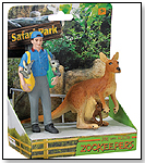 Safari People Joe & Aussie Zookeeper by SAFARI LTD.®
