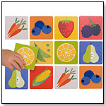 Memory Game Fruits & Veggies by PETIT COLLAGE