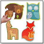 Forest Babies Beginner Puzzle by PETIT COLLAGE