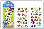 Silly Monster Stickers by PEACEABLE KINGDOM