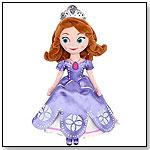 "Sofia Plush - 13"" : Sofia the First Once Upon a Princess Doll by DISNEY"