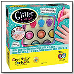 Glitter Nail Art by CREATIVITY FOR KIDS
