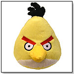 Angry Birds Plush 5-Inch Yellow Bird with Sound by COMMONWEALTH TOY & NOVELTY CO