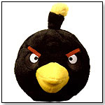Angry Birds Plush 5-Inch Black Bird with Sound by COMMONWEALTH TOY & NOVELTY CO