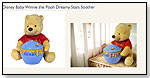 Disney Baby Winnie the Pooh Dreamy Stars Soother by CLOUD B