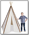 Cotton Canvas 8ft Tee Pee by PACIFIC PLAY TENTS INC
