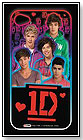 1D Light Up Cell Phone Case by THE WISH FACTORY
