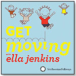 Get Moving with Ella Jenkins by SMITHSONIAN FOLKWAYS RECORDINGS
