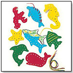 Lauri Lacing and Tracing Sea Life 8/Pk by PATCH PRODUCTS INC.
