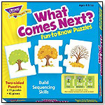 Fun-to-Know® Puzzles: What Comes Next? by TREND ENTERPRISES INC.