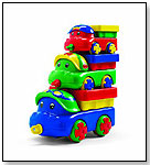 WORKING TRIO Dump Trucks by DISCOVERY TOYS INC.