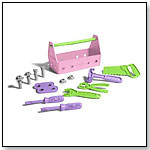 Tool Set, Pink by GREEN TOYS INC.