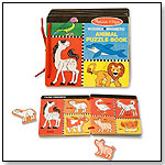 Animal Puzzle Book by MELISSA & DOUG