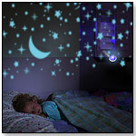 MoonBeam Mini Projector Solar Nightlight by SOLPALS