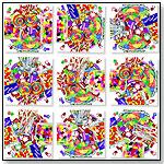 Candy Scramble Squares® 9 Piece Puzzle by b.  dazzle, inc.