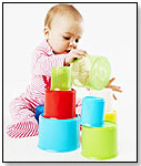 ELC Stacking Cups by INTERNATIONAL PLAYTHINGS LLC