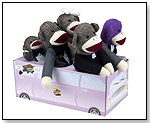 Sock Monkey Family Limo by BRYBELLY HOLDINGS INC.