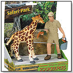 Safari People John & Baxter Zookeeper by SAFARI LTD.®