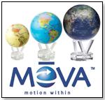 MOVA Globes by TurtleTech Design, Inc.
