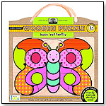 Green Start Wooden Puzzle - Busy Butterfly by INNOVATIVEKIDS