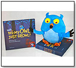 Did My Owl Just Growl? Book/Plush Combo by FOBIE FRIENDS