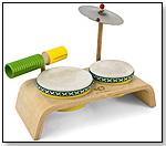 Green Tone Beginner Drum Set by HOHNER