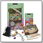 Gemstone Necklace Excavation & Explore by GEOCENTRAL
