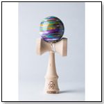 Focus Marble Kendama – Purple/Yellow/Seafoam by SWEETS KENDAMAS