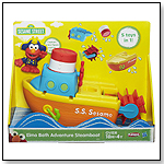 Sesame Street Elmo Bath Adventure Steamboat by HASBRO INC.