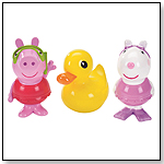 Peppa Pig Bath Squirters - Peppa, Suzy Sheep and Ducky by FISHER-PRICE INC.