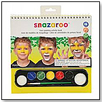 Snazaroo Face Painting Activity Book by COLART AMERICAS, INC.