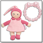 Pink Mini Miss & Baby Teether by COROLLE DOLLS