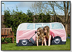 VW Camper Van Play Tent (Pink) by THE MONSTER FACTORY USA