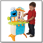 Sesame Street Come 'N Play Cookie Monster Kitchen Cafe by PLAYSKOOL